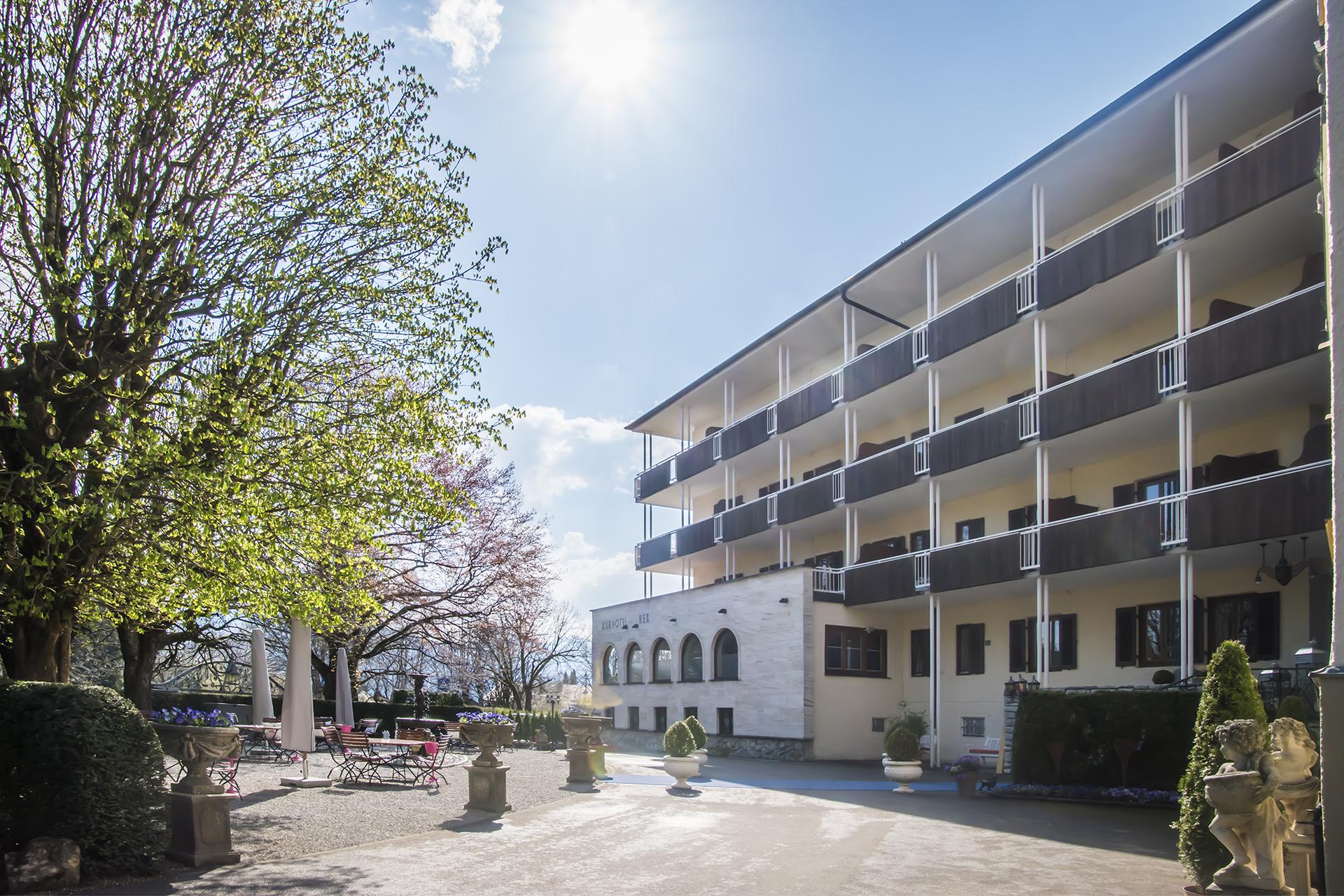 Die Geschichte Hotel Rex Am Tegernsee